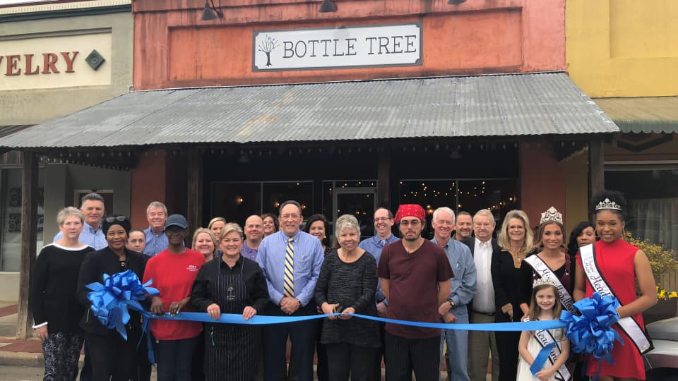 2019 01 10 Grand Opening Bottle Tree