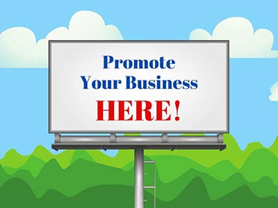 billboard promote your business here