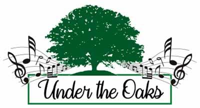 logo under the oaks