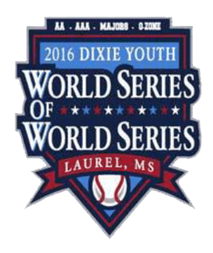 2016 dixie youth world seriers