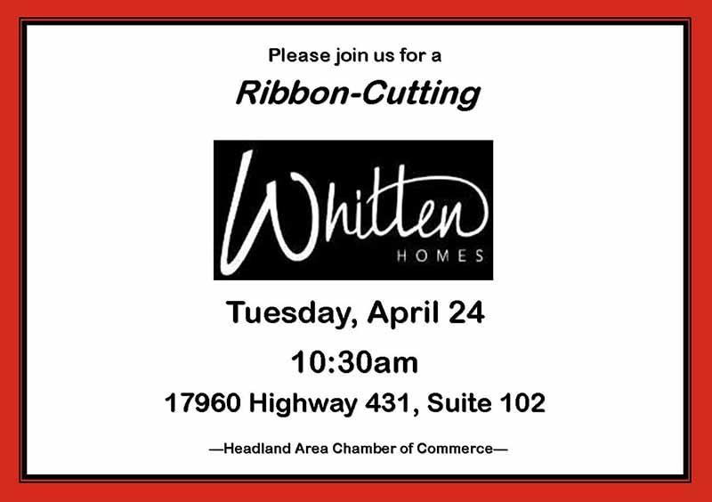 2018 04 24 Whitten Homes Ribbon Cutting