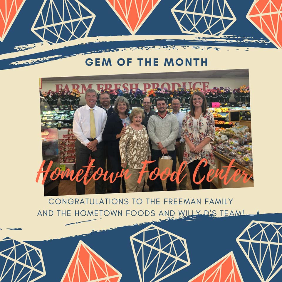 2019 11 HCOC Gem of the Month Hometown Foods