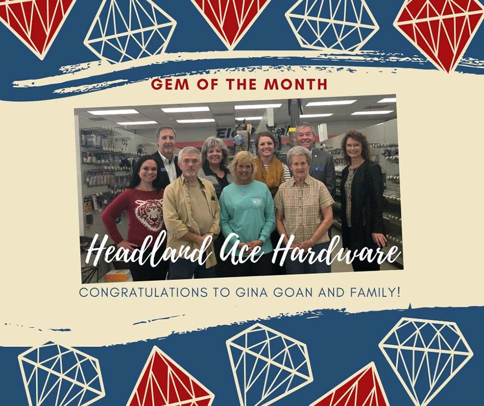 2019 12 HCOC Gem of the Month Headland ACE Hardware