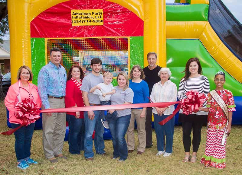 2016 11 30 grand opening american party inflatables