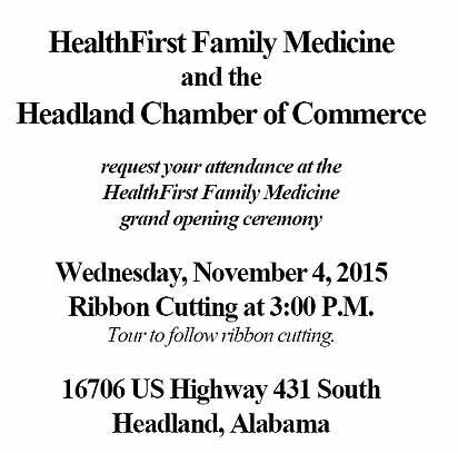 2015 11 4 grand opening healthfirst family medicine