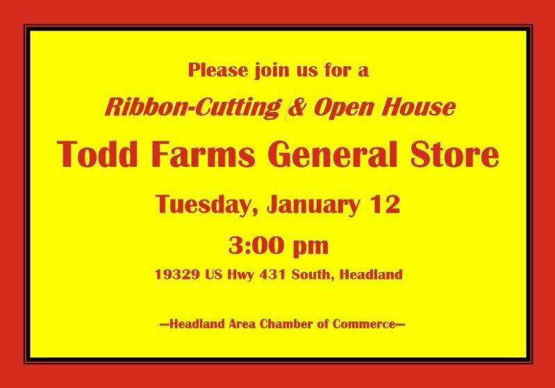 2016 01 12 todd farms grand opening announcement